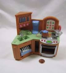 loving family kitchen furniture fisher price loving family dollhouse kitchen unit w sounds stove