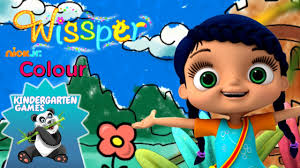 coloring games for kids wissper nick jr colour book youtube