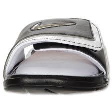 mqznpkbq6 nike comfort slide 2 black white sandals eye catching
