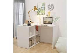 darty bureau bureau vidaxl bureau avec bibliothèque 117 x 92 x 75 5 cm blanc darty