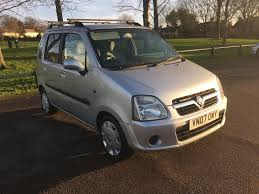 used vauxhall agila estate for sale motors co uk