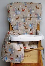 Forest High Chair High Chair Cover Cushion Pad For Baby Custom Handmade Fit Ikea