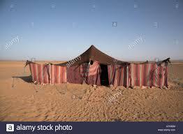 desert tent desert nomad tent zagora morocco africa stock