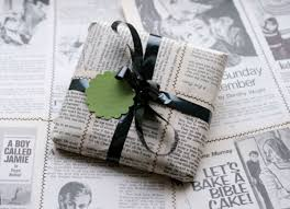 newspaper wrapping paper diy wrapping paper to make your gifts pop