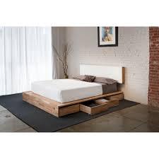 Modern Platform Bed Queen Modern Platform Bedmid Century King Size By Tyfinefurniture Also