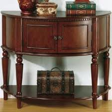 Antique Entryway Table Furniture Of America Georgia Classic Antique Walnut Entryway Table