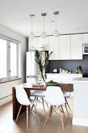 Modern Kitchen Dining Room Design Living Room Design Modern Kitchen Tables Integrated Table And