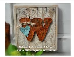 wood letter sign rustic home decor farmhouse sign wedding decor