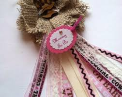 to be corsage shabby chic light pink to be corsage it s a girl