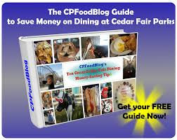 cedar fair parks map cpfb newsletter cp food