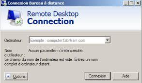 accès bureau à distance utiliser une connexion de bureau distant laintimes