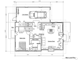 one cottage plans cabin plans single room plan one bedroom with loft floor small 3