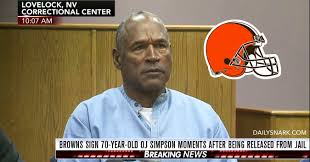 Cleveland Brown Memes - breaking cleveland browns sign rb o j simpson to 2 year deal worth