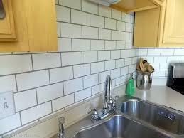 Painting Kitchen Tile Backsplash Paint Ceramic Tile Backsplash Home Design Ideas Fanabis