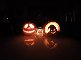 pumpkin carving jack skellington and the oogie boogie youtube