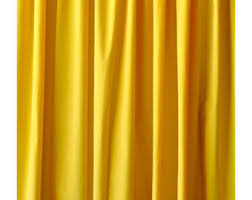 Long Curtains 120 Yellow Curtains Etsy