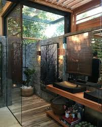 outdoor bathrooms ideas best 25 balinese bathroom ideas on bathroom