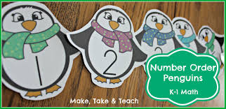 winter themed math bundle for k 1 make take u0026 teach