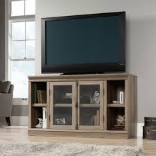 Simple Furniture For Led Tv Personable Unusual Tv Stands With Big Led Tv Side Gray Curtain