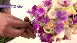 How To Make A Bridal Bouquet How To Make A Bridal Bouquet Tutorial Youtube