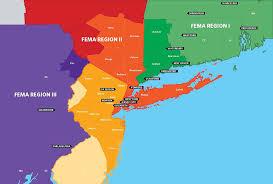 fema region map regional catastrophic planning team website ct nj ny pa