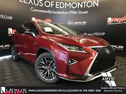 lexus rx red new 2017 lexus rx 350 4 door sport utility in edmonton ab l14102