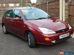 Ford Focus 1999 Interior 1999 Ford Focus Ghia For Sale In United Kingdom