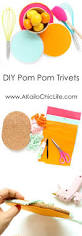 craft it pom pom trivets crafts gifts and christmas gift ideas