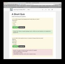 html online class quizpage png
