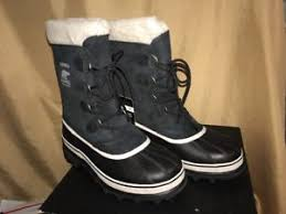 womens black suede boots size 11 size 11 sorel caribou insulated womens black suede winter