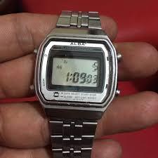 Jam Tangan Alba Digital jam alba digital lama fesyen lelaki jam tangan di carousell