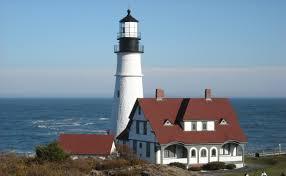 portland head light lighthouse portland head light maine lighthouse trail