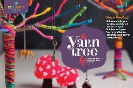 craft tastic yarn tree kit store sun valley