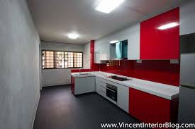 kitchen design singapore hdb flat home design throughout kitchen