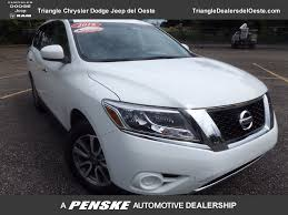 nissan pathfinder xtronic cvt 2016 used nissan pathfinder 2wd 4dr s at triangle chrysler jeep