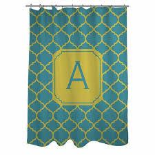 Monogram Shower Curtains Cheap Monogram Shower Curtain Find Monogram Shower Curtain Deals