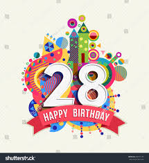 28th birthday card alanarasbach com