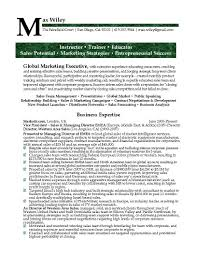 Resume Samples Vice President Marketing by Career Live Resume Resume For Your Job Application