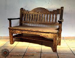 Southwestern Style Southwest Benches Custom Southwestern Benches