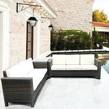Patio Furniture Resin Wicker by Resin Wicker Patio Furniture Canada Synthetic Wicker Patio