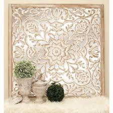 Home Depot Decorative Wall Panels 48 In X 48 In Rustic Decorative Lattice And Floral Patterned