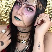 halloween makeup app fortune teller halloween makeup ideas popsugar beauty