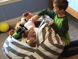stuffed animal bean bag chair business insider