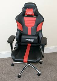 gt omega racing xl office chair review play3r