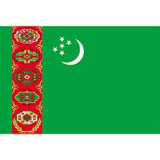 Flag Of Turkmenistan Turkmenistan Flagge Posylka De