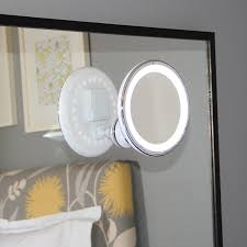 Wireless Bathroom Light Amazon Com Led Makeup Mirror Adjustable 5x Magnification