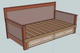 Pull Out Daybed Pull Out Daybed Do It Yourself Furniture