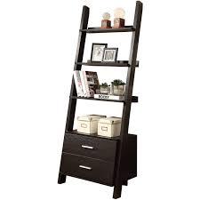 Brown Ladder Shelf Monarch Bookcase 69
