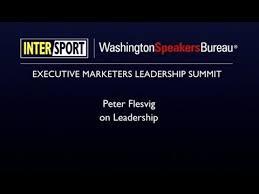 washington speakers bureau flesvig on leadership