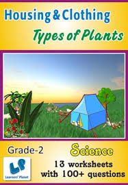 class ii science types of plants practice worksheets for students